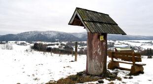 Zima w Bieszczadach (Darek Delmanowicz/PAP)