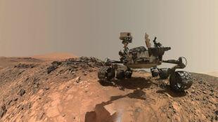 Łazik Curiosity dostał się do krateru Gale