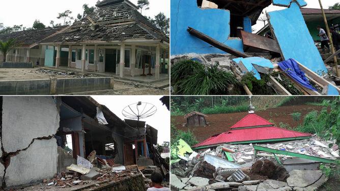 Ziemia zatrzęsła się w Indonezji. Trzy osoby nie żyją, setki uszkodzonych domów
