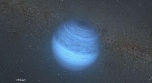 Wizualizacja samotnej planety